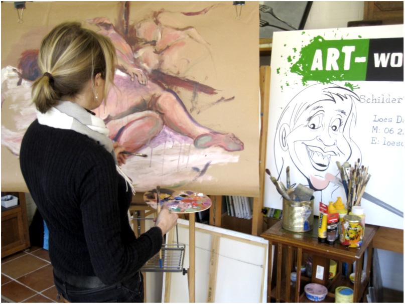 Art-works.nu-Loes-atelier