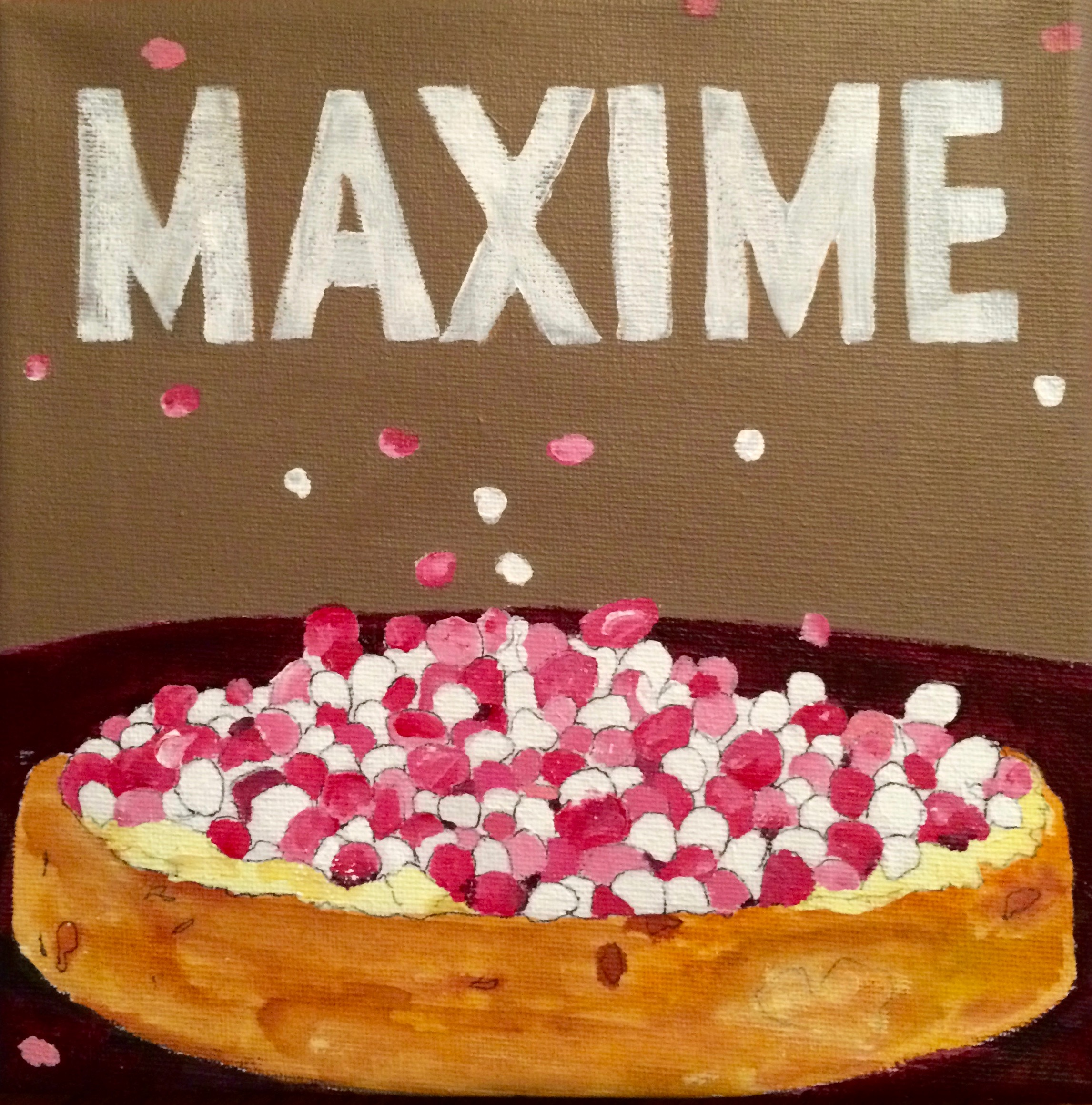 Maxime is geboren